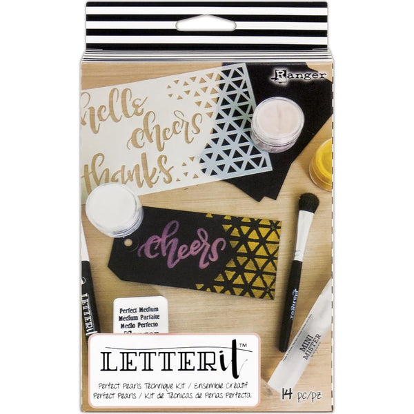 Ranger Letter It Perfect Pearls Technique Kit