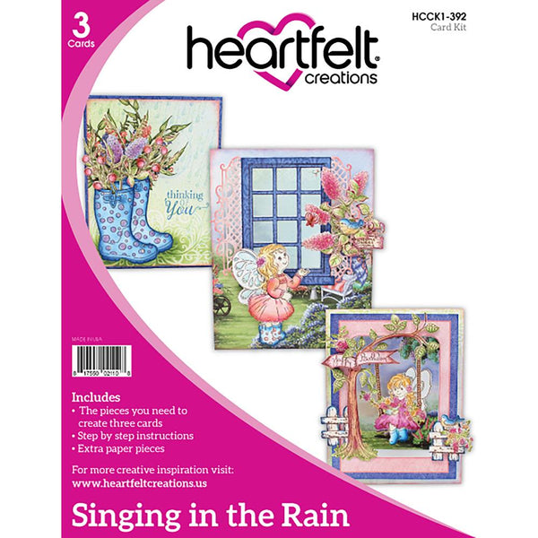 Heartfelt Creations - Singing in the Rain Card Kit