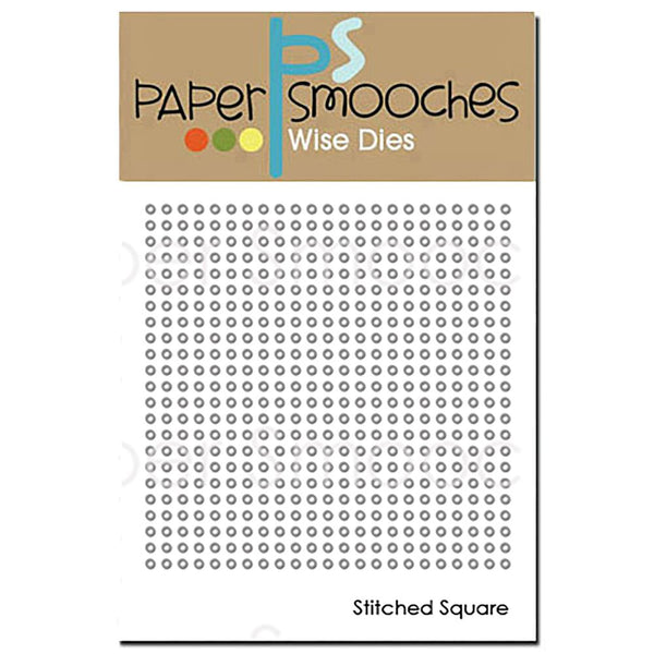 Paper Smooches Dies, Stitched Square