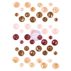 Prima, Prima, Say It In Crystals, Adhesive Embellishments Assorted Dots 48/Pkg, Love Story