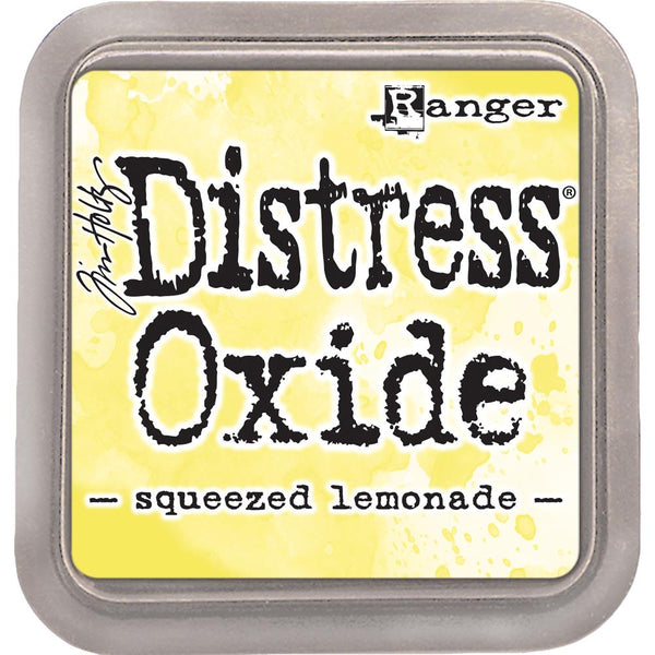 Ranger, Tim Holtz Distress Oxides Ink Pad 3rd Release, Squeezed Lemonade