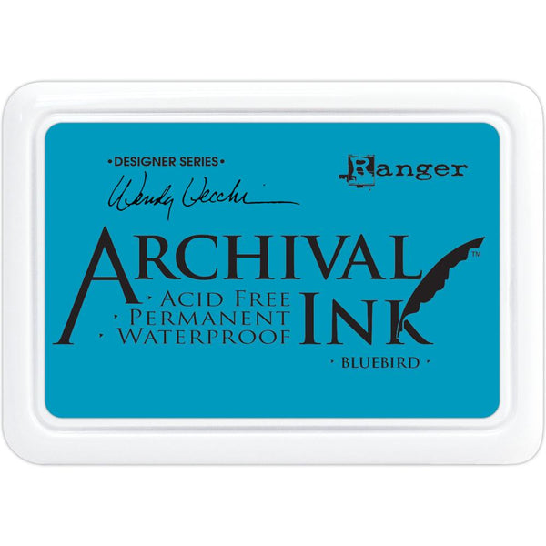 Wendy Vecchi Archival Ink Pad, Bluebird