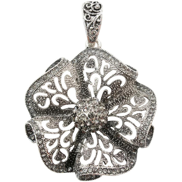 Tim Holtz Assemblage Pendant, Ruffled Floral
