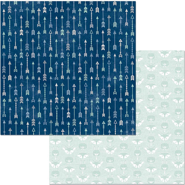 "Bo Bunny,  Little Wonders Double-Sided Cardstock 12""X12"", Max"