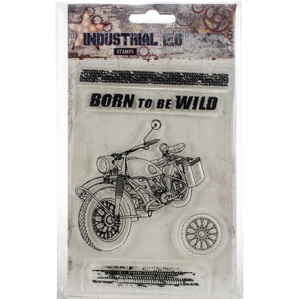 Studio Light Industrial 2.0 A6 Stamps, Born to be Wild