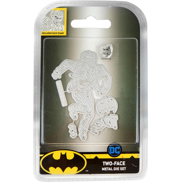 DC Comics Batman Die And Face Stamp Set, Two-Face