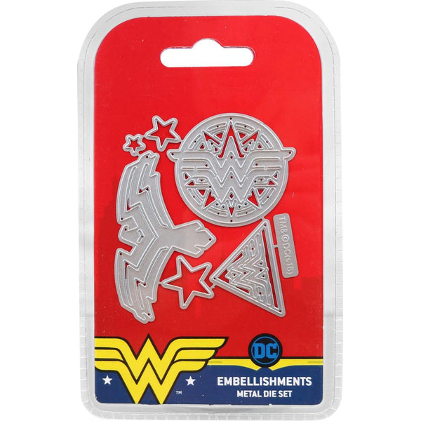 DC Comics Wonder Woman Die Set, Embellishments