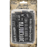 Advantus - Tim Holtz, Idea-Ology Chipboard Quote Chips 55/Pkg, Halloween, Words & Phrases