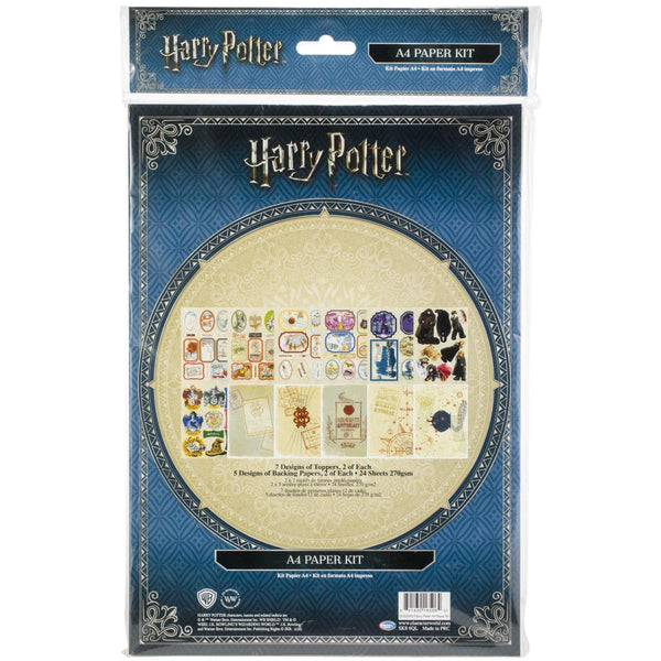 Harry Potter Paper Kit, A4 Paper Kit