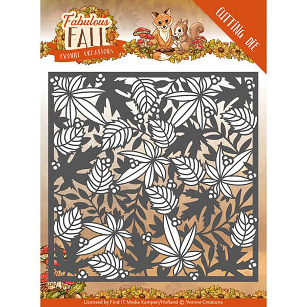 Find It Trading Yvonne Creations Fabulous Fall Die, Autumn Frame