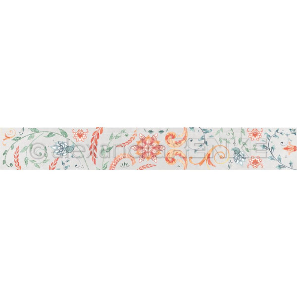 Alexandra Renke Ornamentic Washi Tape 40mmX10m, Colorful Vines