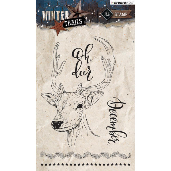 Studio Light Winter Trails, Clear Stamps
