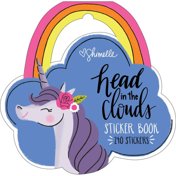 Shimelle Head In The Clouds, Sticker Book 240/Pkg