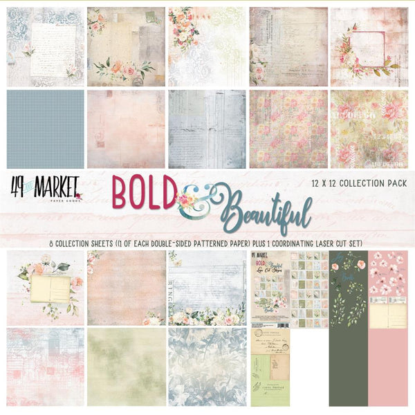 "49 And Market Collection Pack 12""X12"", Bold & Beautiful"