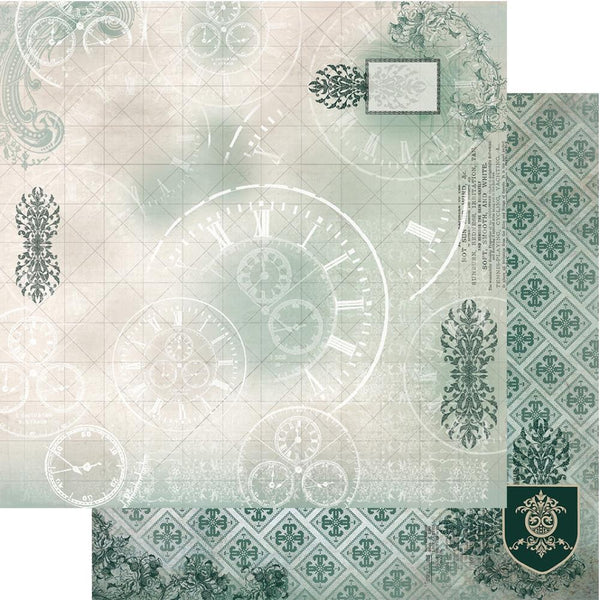 "Gentleman's Emporium Double-Sided Paper 12""X12"", #3"