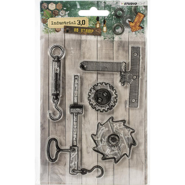 Studio Light Industrial 3.0 Stamps, A6 Stamp (Stampin317)