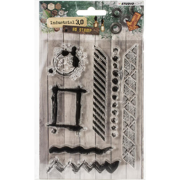 Studio Light Industrial 3.0 A6 Stamps (Stampin319)