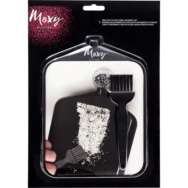 Moxy Funnel & Brush Set