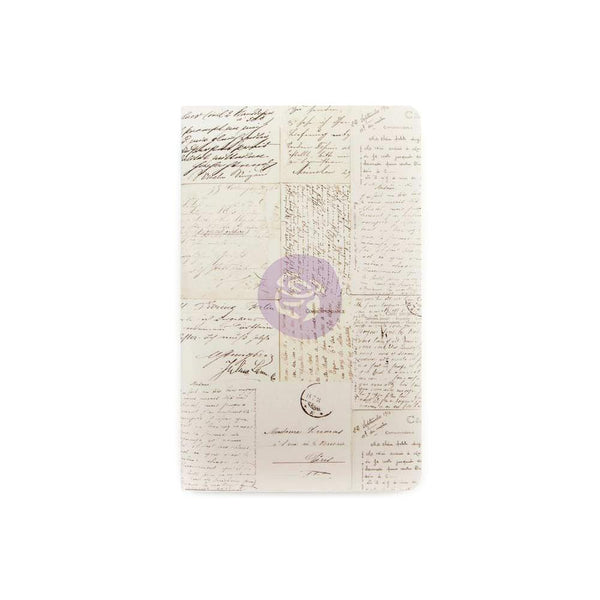 Prima Marketing Traveler's Journal Personal Refill Notebook, Old Letter