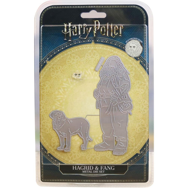 Harry Potter, Die And Face Stamp Set, Hagrid & Fang