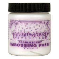 Dreamweaver Embossing Paste 4oz, Pearlescent