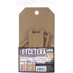 Tim Holtz Etcetera Tombstone Overlay, Small