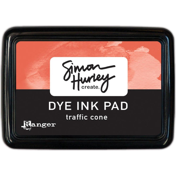Simon Hurley create. Dye Ink Pad, Traffic Cone