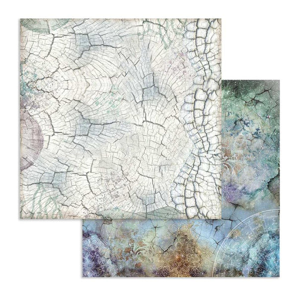 "Stamperia, Double-Sided Cardstock 12""X12"", Cosmos Bark"