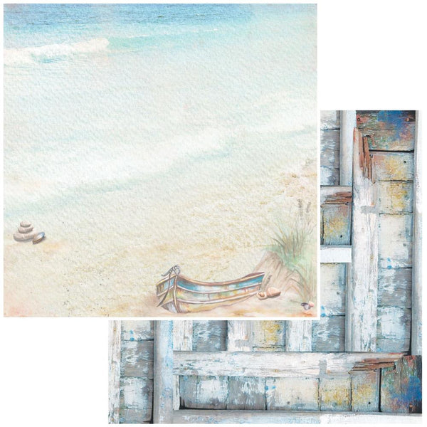 "49 and Market, Seaside Double-Sided Cardstock 12""X12"", Sand Dunes"