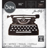 Sizzix Bigz Die By Tim Holtz, Retro Type