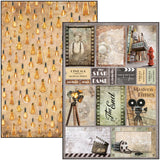 Ciao Bella Double-Sided Creative Pack 90lb A4 9/Pkg, Modern Times, 9 Designs/1 Each