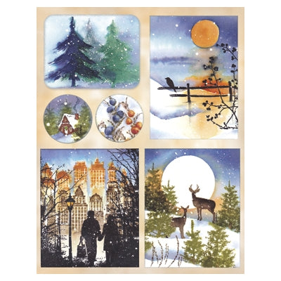 Penny Black, Serene Season, Sticker