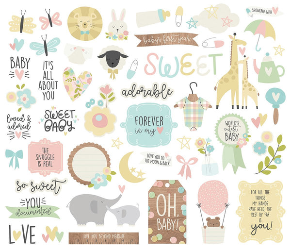 Oh Baby! Bits & Pieces, Die-Cuts 51/Pkg