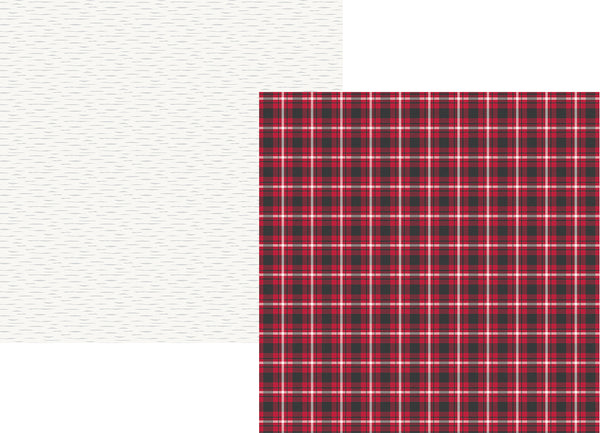 "Simple Sets, Plaid Dad, Double-Sided Cardstock 12""X12"", Rad Plaid"