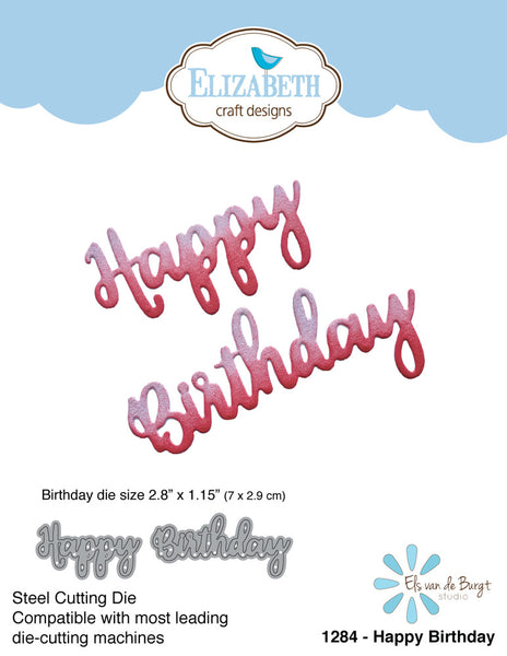 Elizabeth Craft Designs, Dies, Happy Birthday