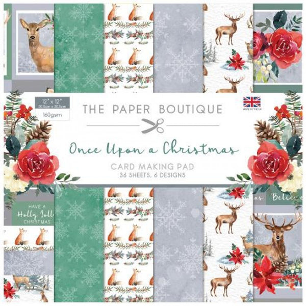 The Paper Boutique, Once Upon a Christmas, Card Making Pad