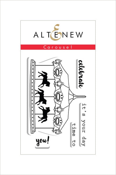 Altenew, Carousel Stamp Set - Scrapbooking Fairies