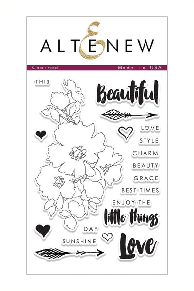 Altenew, Charmed Stamp Set - Scrapbooking Fairies