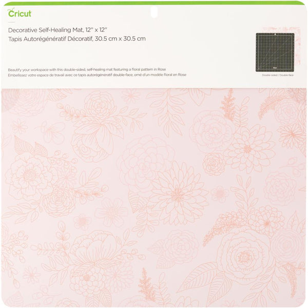 "Cricut 12""X12"" Deco Self Healing Mat, Rose"