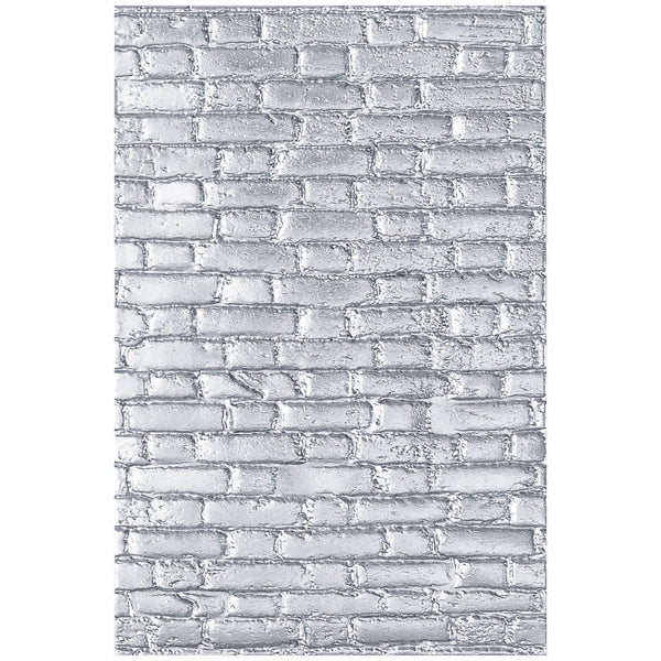 Sizzix 3D Texture Fades Embossing Folder By Tim Holtz, Brickwork