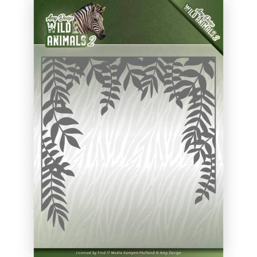 Find It Trading Amy Design Die, Jungle Frame, Wild Animals 2