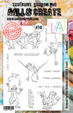 AALL & Create, Die #19 and Matching Stamps Set #241, Go Bananas!