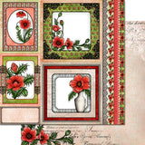 Heartfelt Creations, Blazing Poppy Paper Collection