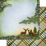 "Heartfelt Creations Double-Sided Paper Pad 12""X12"" 24/Pkg, Woodsy Wonderland, 12 Designs/2 Each"