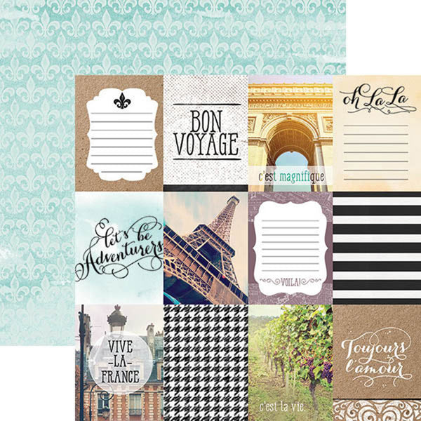 "Paper House, France Double-Sided Cardstock 12""X12"" - Scrapbooking Fairies"