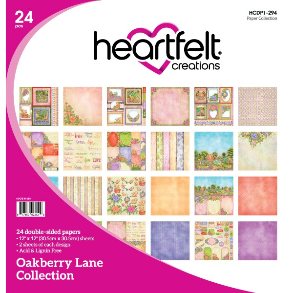 Heartfelt Creations, Oakberry Lane Paper Collection