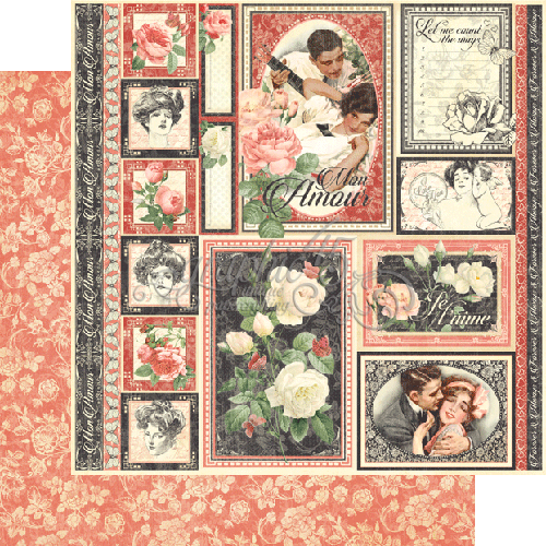Graphic 45 - One and Only - Scrapbooking Fairies