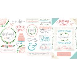 American Crafts, Project Life Chipboard Stickers, Southern Weddings