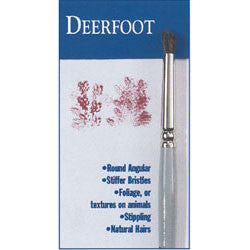 #3/4 Deerfoot Series 410 Bette Byrd Brushes - Scrapbooking Fairies