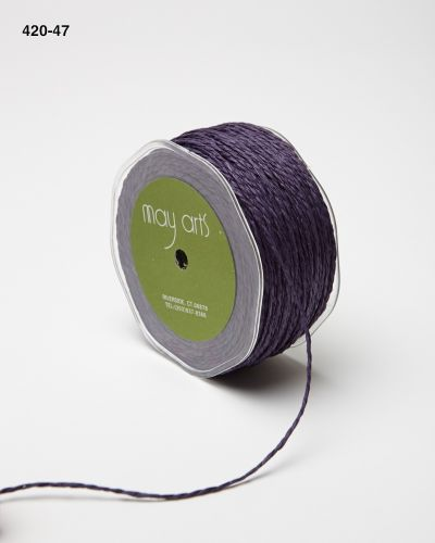 Jute Trim, Grape (Sold by the Yard)